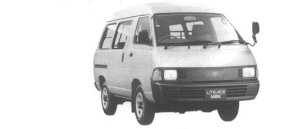 Toyota Liteace VAN 4WD HIGH ROOF 2000 DIESEL 5 DOOR 1994 г.