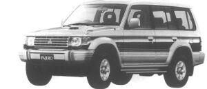 Mitsubishi Pajero METALIST ROOF WIDE EXCEED 1994 г.
