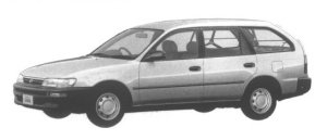 Toyota Corolla VAN 1500GL EXTRA 1994 г.