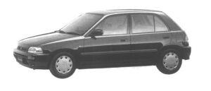 Daihatsu Charade CZ 1300 1994 г.