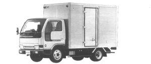 Nissan Diesel Condor 20 STANDARD, SUPER LOW, DRY VAN 1994 г.