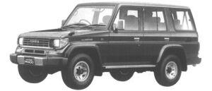 Toyota Land Cruiser Prado WAGON 4 DOORS SX 1994 г.