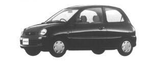 Mitsubishi Minica 3 Pj (5M/T) 1994 г.