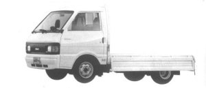 Nissan Vanette Truck 2WD SUPER LOW, DOUBLE TIRE GL 1994 г.