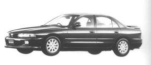 Mitsubishi Galant 1.8 DOHC 16V VIENTO 1994 г.