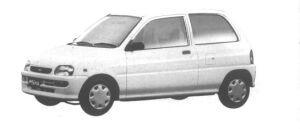 Daihatsu Mira TS 1994 г.