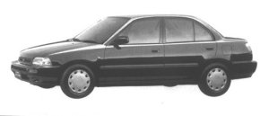 Daihatsu Charade SOCIAL SX 1994 г.