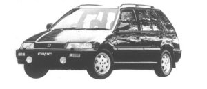 Honda Civic Shuttle LIMITED EDITION (4WD) 1994 г.