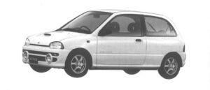 Subaru Vivio GX-L 3 DOORS 1994 г.