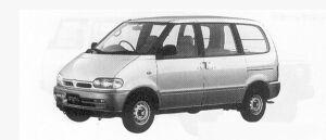 Nissan Vanette SERENA CARGO 4DOOR  1600VX 1991 г.