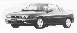Isuzu Piazza NERO 181XE 1991 г.