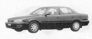 Toyota Vista SEDAN 2000VX 1991 г.