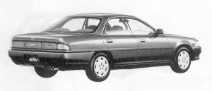 Toyota Corona Exiv 1.8FG 1991 г.