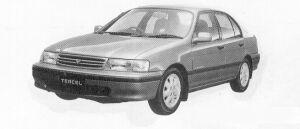 Toyota Tercel VX 1500EFI 1991 г.