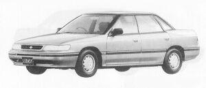 Subaru Legacy 4WD 4DOOR SEDAN 1.8L MI 1991 г.