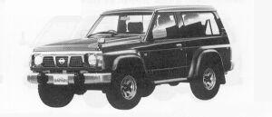 Nissan Safari VAN HARD TOP GRAN ROAD 1991 г.
