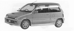 Daihatsu Mira TURBO TR-XX EFI 1991 г.