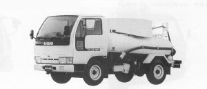 Nissan Atlas VACUUM CAR 1991 г.