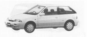 Suzuki Cultus HATCH BACK 3DOOR AVAIL 1300 1991 г.
