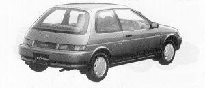 Toyota Corsa 1300 1991 г.