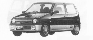 Suzuki Alto Works TWIN CAM TURBO RS/X 1991 г.