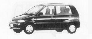 Mitsubishi Minica 1:2DOOR 1991 г.