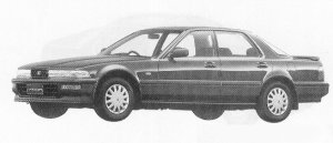 Honda Vigor TYPE W-S-LIMITED 1991 г.