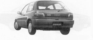 Toyota Starlet 4WD X LIMITED 1991 г.