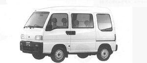 Subaru Sambar TRY RJ (4WD) 1991 г.