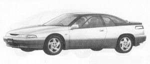 Subaru Alcyone SVX  VERSION L 1991 г.