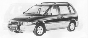 Mitsubishi RVR X 1991 г.