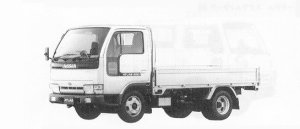 Nissan Atlas 2.0T CARGO FULL SUPER LOW DOUBLE TIRE VZ 1991 г.