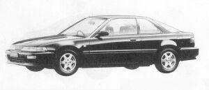 Honda Integra 3DOOR COUPE RSi 1991 г.