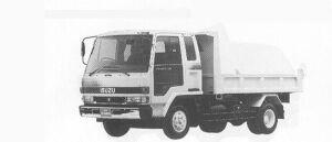 Isuzu Forward CUSTOM DUMP 195PS 4T 1991 г.