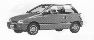 Daihatsu Leeza OXY 1991 г.