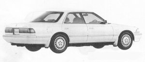 Toyota Mark II HARD TOP 2.5 GRANDE G 1991 г.