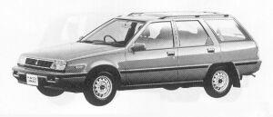 MITSUBISHI MIRAGE 1991 г.