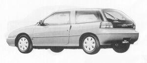 Isuzu Gemini HATCH BACK 1600 DOHC  OZ 1991 г.