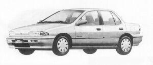Isuzu Gemini SEDAN 1500 GASOLINE C/C-L 1991 г.
