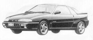 Isuzu Gemini COUPE 1600DOHC TURBO IRMSCHER R 1991 г.