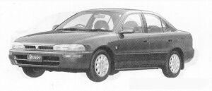 Toyota Sprinter SEDAN 1600SE-G 1991 г.