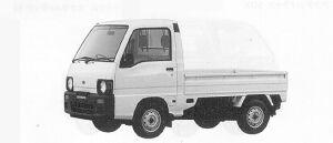 Subaru Sambar Truck STANDARD ROOF STD (2WD) 1991 г.