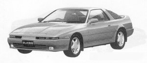Toyota Supra CAROTOP 2.5GT TWIN TURBO LIMITED 1991 г.