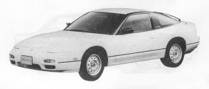 Nissan 180SX TYPE I 1991 г.