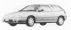Isuzu Gemini HATCH BACK 1600 DOHC  OZ-G 1991 г.