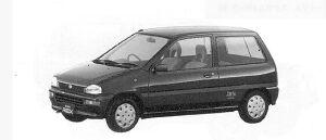 Subaru REX 3DOOR FERIA ECVT 1991 г.