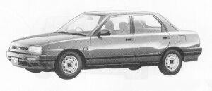 Daihatsu Applause 16L 1991 г.