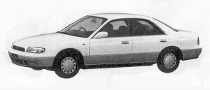 Nissan Bluebird 4DOOR HARD TOP 1800ARX-V 1991 г.