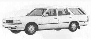 Nissan Cedric WAGON V20E SGL 1991 г.