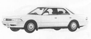 Toyota Mark II HARD TOP GRANDE 1991 г.
